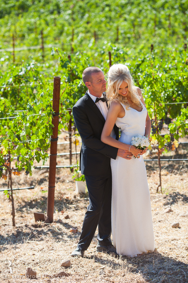 Sonoma Vineyard wedding at Borcher Winery by Rubin Photography_0001