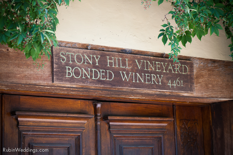 Stony Hill Vineyard Wedding Napa California By Rubin Photography_0011