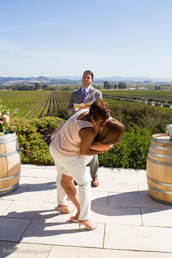 Sonoma and Napa Elopement Photographer at Gloria Ferrer Winery Wedding By Rubin Photography_0010