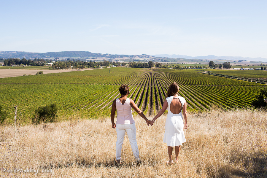 Sonoma and Napa Elopement Photographer at Gloria Ferrer Winery Wedding By Rubin Photography_0011