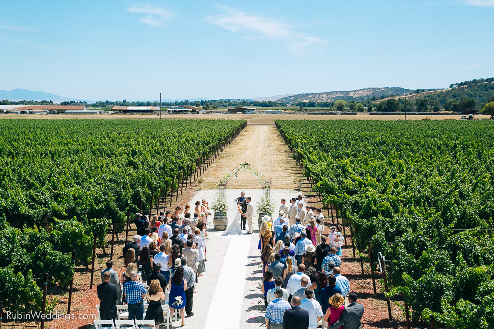 Blue Victorian Wedding at Vezer Family Vineyards By Alexander Rubin Photography (11)