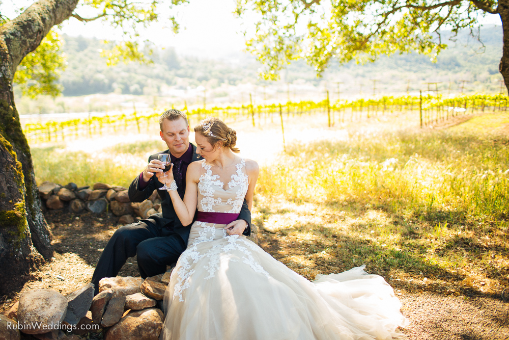 Kunde Winery Wedding Sonoma Alexander Rubin Photography