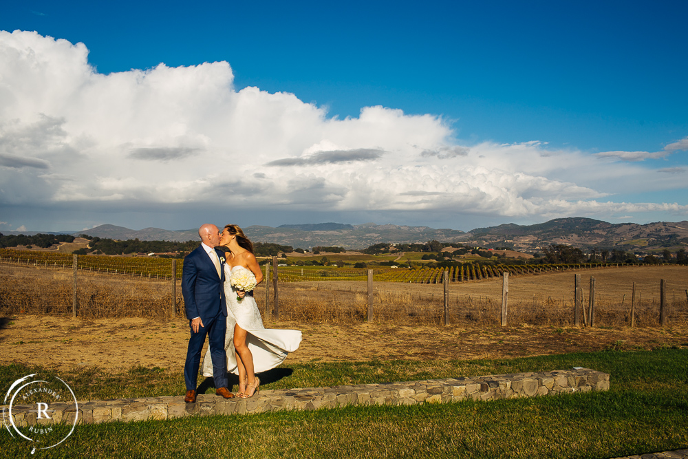Alexander Rubin Photography Carneros Inn Winery Wedding