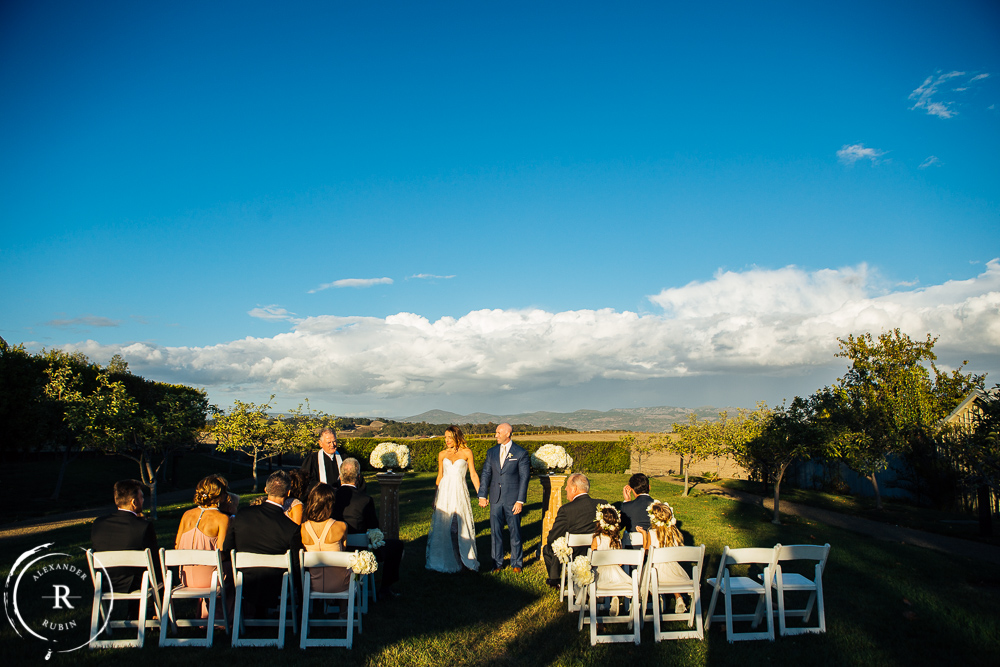 Carneros Inn Wedding Alexander Rubin Photography
