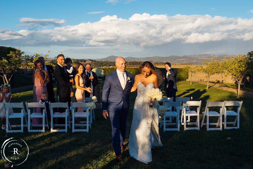 Carneros Inn Wedding with Alexander Rubin Photography