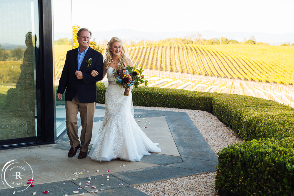Sonoma Valley Wedding Alexander Rubin Photography