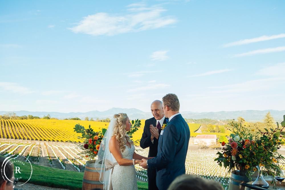 Russian River Wedding Winner's Circle at Vine Hill Ranch