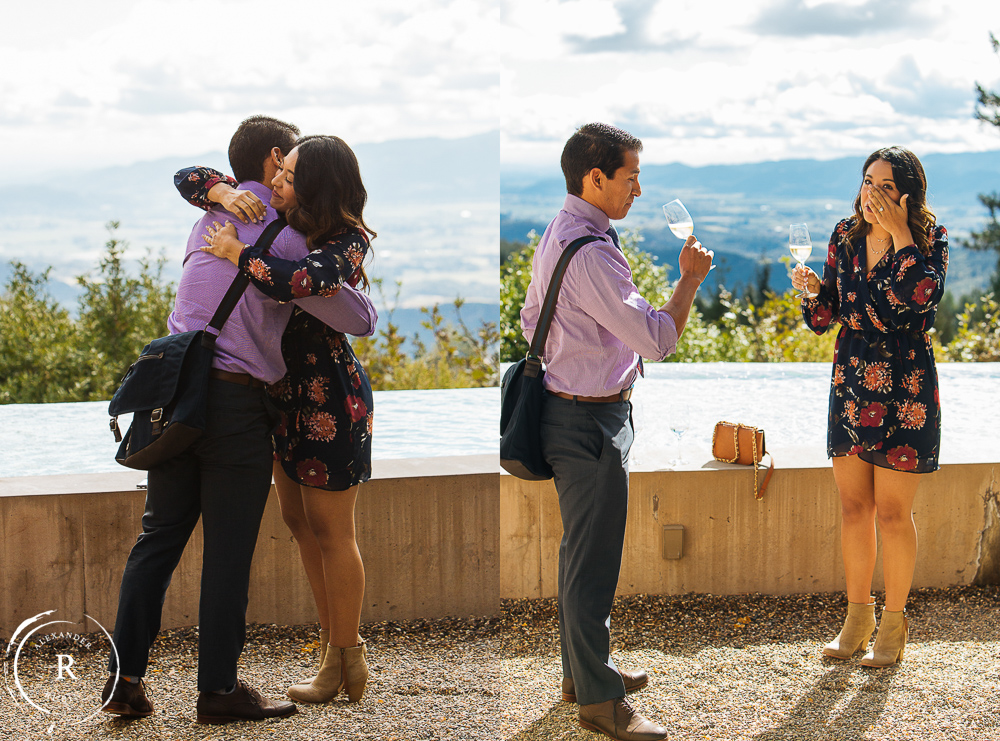 Napa Valley Proposal Photographer Alexander Rubin