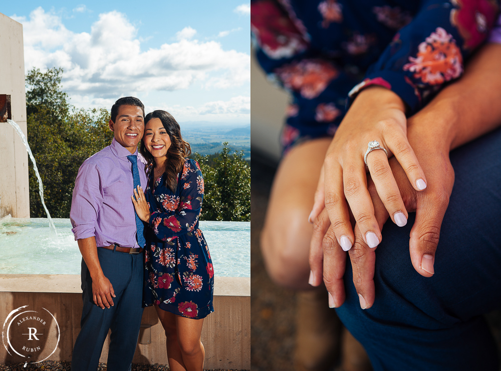 Napa Valley Proposal Photographer Cade Winery