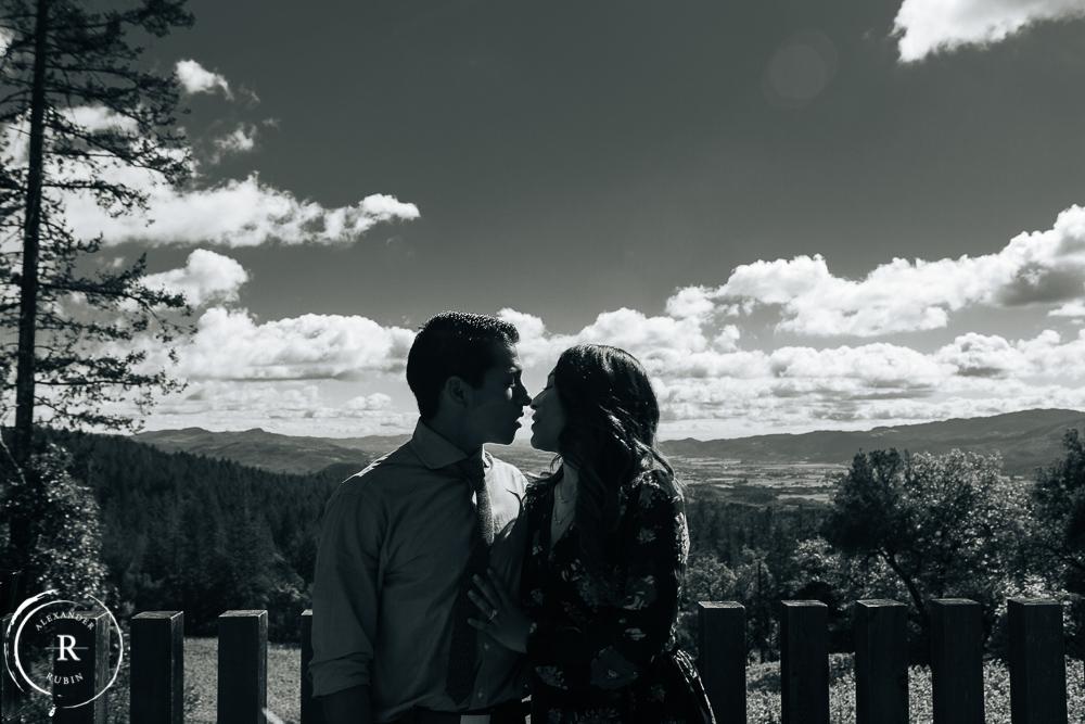 Napa Valley Proposal Photographer Alexander Rubin Cade Winery