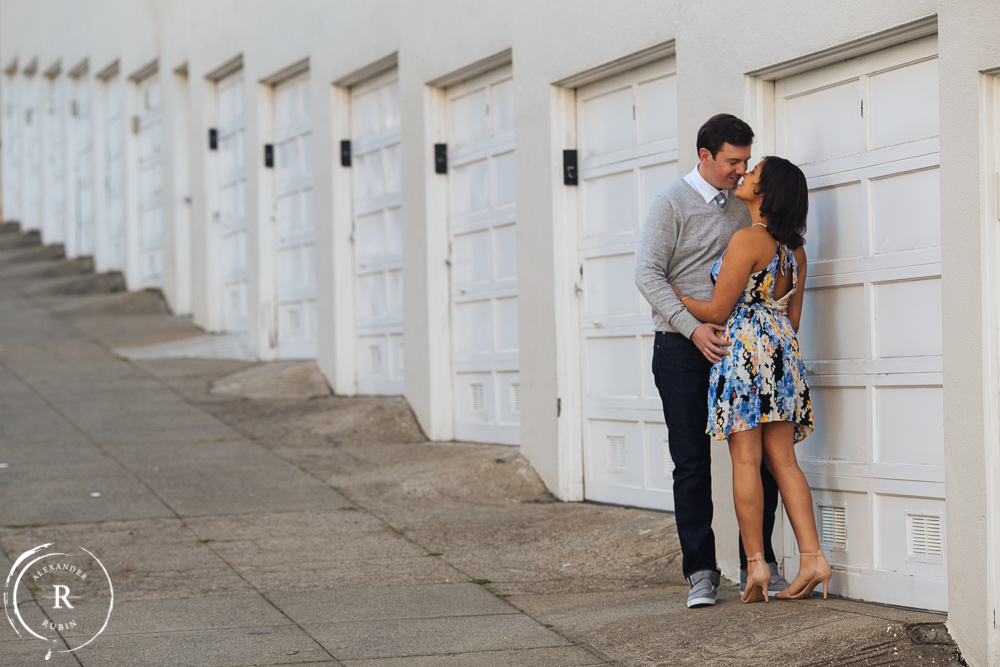 San Francisco and Golden Gate Bridge Engagement Session 0004