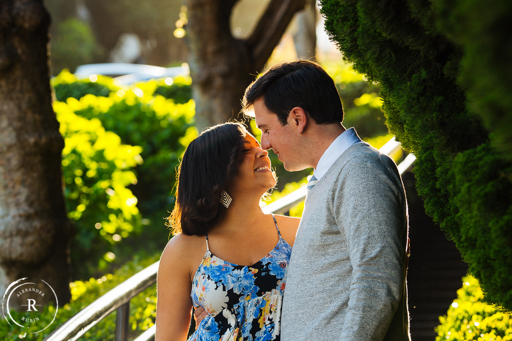 San Francisco and Golden Gate Bridge Engagement Session 0008