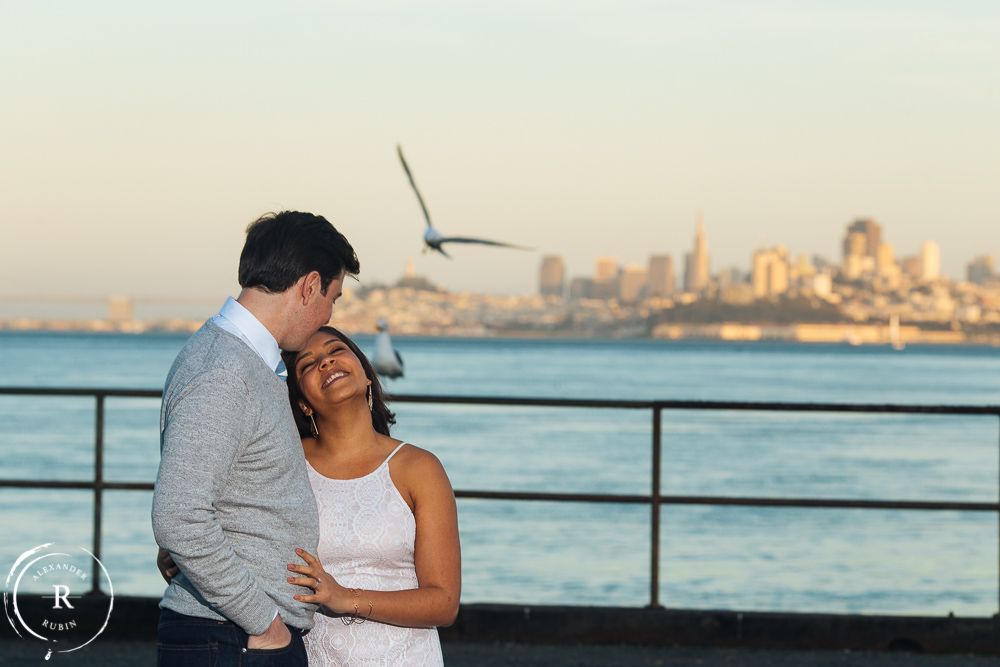 San Francisco and Golden Gate Bridge Engagement Session 0012