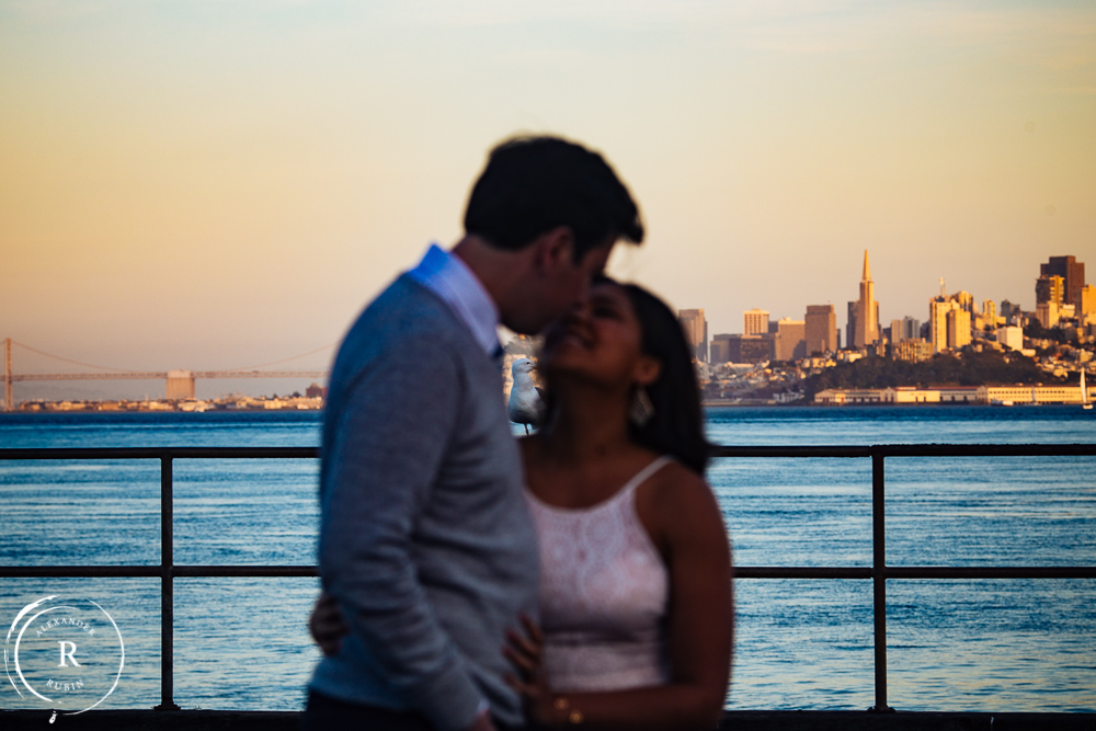 San Francisco and Golden Gate Bridge Engagement Session 0013