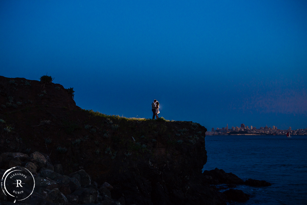 San Francisco and Golden Gate Bridge Engagement Session 0017
