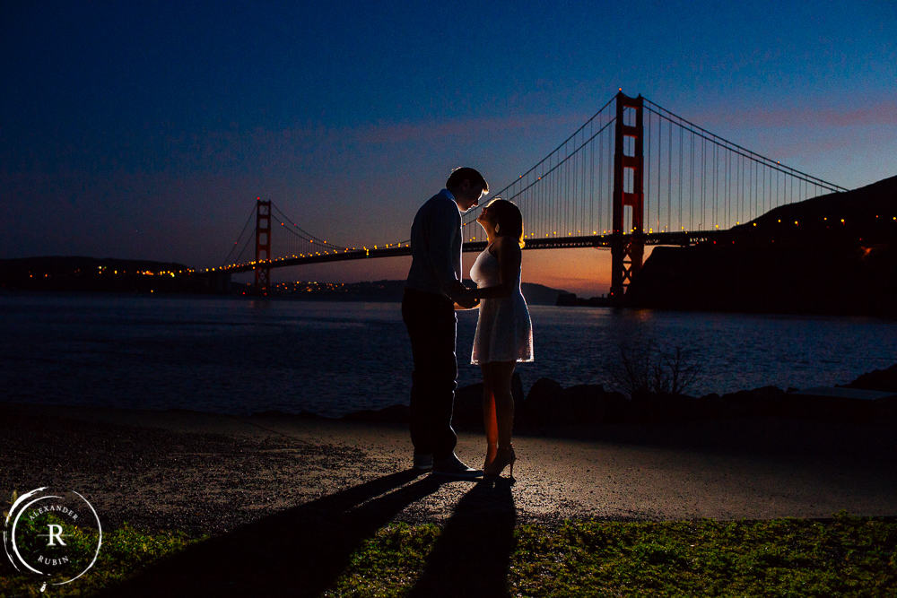 San Francisco and Golden Gate Bridge Engagement Session 0018